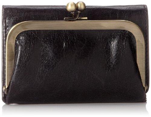 Hobo Robin Wallet,Black,One Size