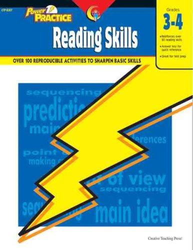 Reading Skills, Gr. 3-4 (Power Practice)