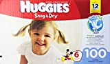 Huggies Snug and Dry Diapers, Size 6, 100 Count
