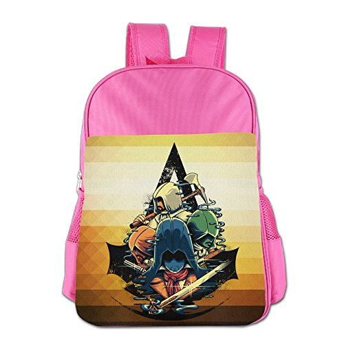 Unite Assassins Assassins Creed Game Kids School Backpack Bag Pink (Ps4 Ventilator compare prices)