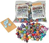 Chessex Dice: Pound of Dice (Pound-O-Dice) Approximately 100 Die