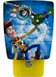 Jasco Products 11769 Disney Pixar Toy Story LED Wrap Around Shade Night Light