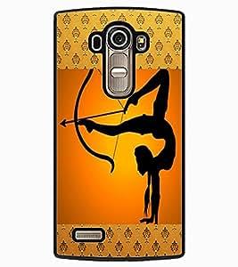 ColourCraft The Archer Design Back Case Cover for LG G4