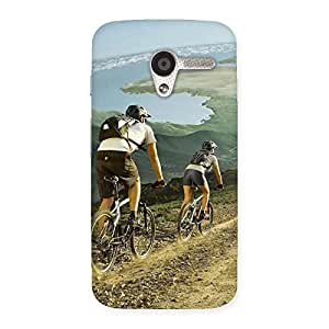 Premium Bycycle View Back Case Cover for Moto X