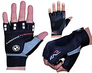 Evo Fitness Cycling Glove,Gym Weightlifting Gloves GEL exercise Wheelchair Glove (Small)