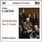 Elliott Carter - String Quartets Nos. 2, 3 & 4