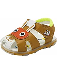 Yellow Bee Baby Boys' PU Fashion Sandals