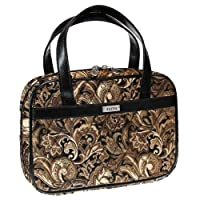 Brown Quilted Paisley Purse-Style Bible / Book Cover w/