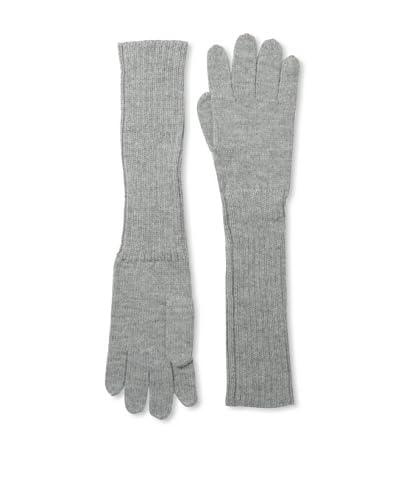 Alicia Adams Alpaca Women's Edwina Gloves, Light Grey As You See