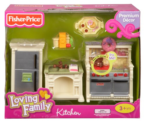 fisher price loving family dollhouse kitchen home garden dining appliance accessories cooktop. Black Bedroom Furniture Sets. Home Design Ideas