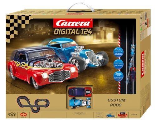 Carrera Digital 124 Custom Rods Slot Car Set