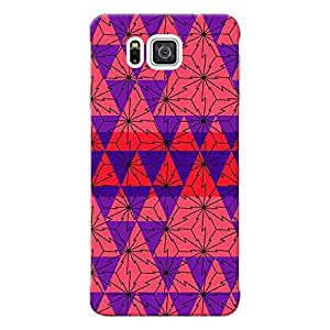 Mobile Back Cover For Samsung Galaxy Alpha G850 (Printed Designer Case)