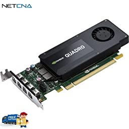 Quadro K1200 Graphics Card (Smart Buy Pricing) and Free 6 Feet Netcna HDMI Cable - By NETCNA