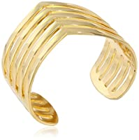 Paige Novick Five Row Pointed Cuff Bracelet by Paige Novick