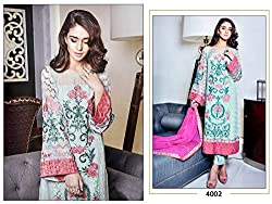 Typify Women's Georgette Semistitched Dress Material(PR-PINK-PAK-1 _Pink)