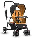 Joovy Caboose Stand On Tandem Stroller, Orangetree