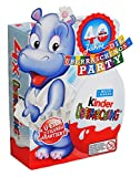 Kinder Surprise Egg Chocolate 20g Special Edition with 4 eggs Die Überraschungs - Party (pack of 4)