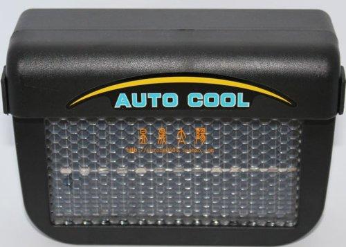 3W Solar Powered Car auto cool fan Air Vent Solar power Fan Black (Solar Powered Car Fan compare prices)