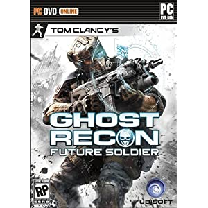 Tom Clancy Ghost Recon Future Soldier PC Video Game