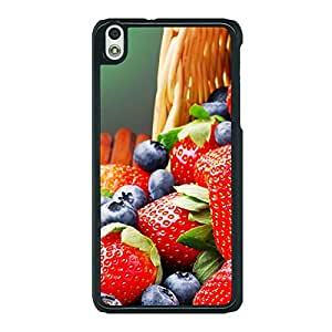 Jugaaduu Strawberry Love Back Cover Case For HTC Desire 816 Dual Sim