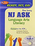 NJ ASK Grade 6 Language Arts Literacy w/ CD-ROM (New Jersey ASK Test Preparation)