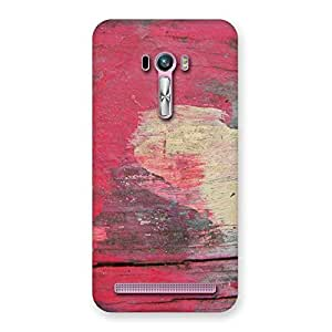 Cute Vintage Red Yellow Print Back Case Cover for Zenfone Selfie