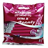 Wilkinson Sword Extra 2 Beauty Razors Pack of 5
