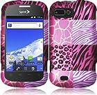 For ZTE Valet Z665C Fury Director N850 Cover Case (Pink Exotic Skins)