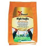 X-Seed Ultra Premium High Traffic Lawn Seed Mixture, 7-Pound (Color: Orange, Tamaño: 7-Pound)