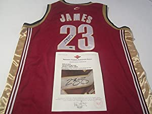 LeBron James Cleveland Cavaliers Signed Autographed Jersey Authentic Certified Coa