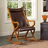 Other Brands Spencer Rocking Chair - Brown - 800-S