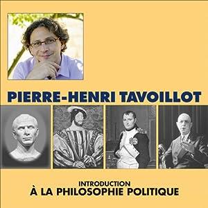Introduction à la philosophie politique Speech