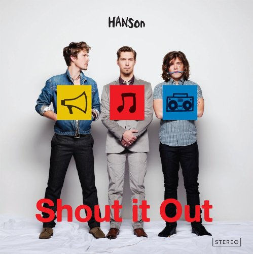 Shout It Out by Hanson album cover