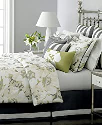 Martha Stewart Collection Bedding, Poppy Floral 6 Piece Queen Comforter Set