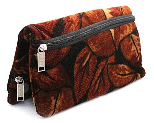 Peach & Glory Brown Hand Purse Wallet Handbag for Ladies, Girls & Women - Stylish - Low Price (AC)