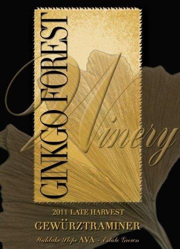 2011 Ginkgo Forest Winery Estate Late Harvest Gewürztraminer, Wahluke Slope 750 Ml