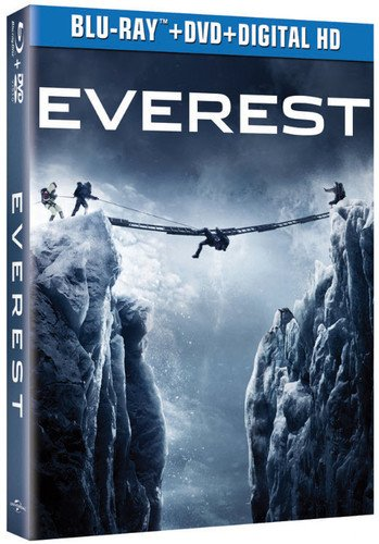 Blu-ray : Everest (Ultraviolet Digital Copy, 2 Pack, Slipsleeve Packaging, Snap Case, Digital Copy)