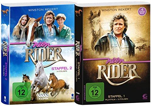 Neon Rider - Box mit den kompletten Staffeln 1 + 2 (8 DVDs) (exklusiv bei Amazon.de)