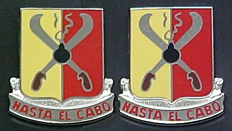 162nd Field Artillery Puerto Rico Distinctive Unit Insignia - Pair