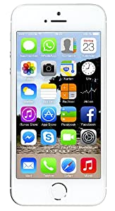 Apple iPhone 5S Smartphone (10,2 cm (4 Zoll) Display, 32GB Speicher, iOS 7) Silber