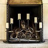 Viridian Bay Octopus Fireplace Candelabra