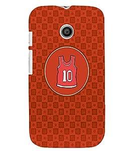 PRINTVISA NBA Pattern Case Cover for Motorola Moto E