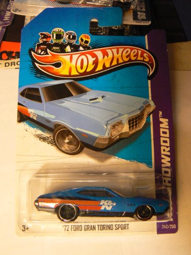 Hot Wheels HW Showroom 242/250 `72 Ford Gran Torino Sport