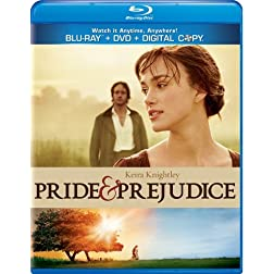Pride & Prejudice [Blu-ray/DVD Combo + Digital Copy]