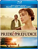 51HnT0DuLCL. SL160  Pride &amp; Prejudice [Blu ray/DVD Combo + Digital Copy]