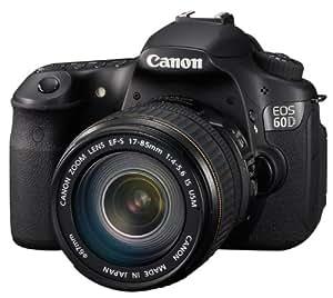 Canon EOS 60D SLR-Digitalkamera (18 Megapixel, Live-View, Full HD-Movie) Kit inkl. EF-S 18-135 IS Objektiv (bildstabilisiert)
