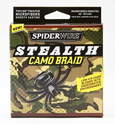 Spiderwire Stealth Camo Braid - 300 Yards from Spiderwire