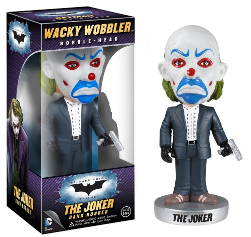 Funko Dark Knight Movie: Bank Robber Wacky Wobbler - 1