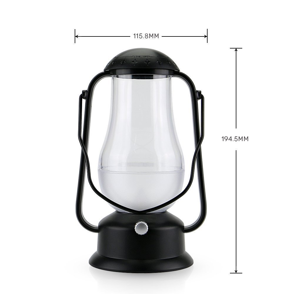 e-joy ej-0025 Portable Blow LED Lamp Blowing Control LED Lantern/Candle Wireless Camping Lamp Nightlight Bedside Lamp 2