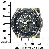 Citizen Men's JY0050-55L Eco-Drive Blue Angels Skyhawk A-T Chronograph Titanium Watch